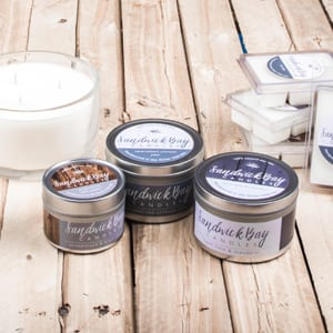 Sandwick Bay Candles Travel tins