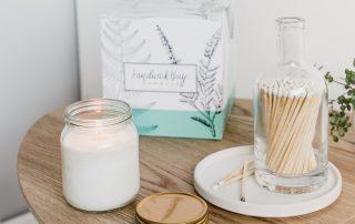Sandwick Bay candles subscription box