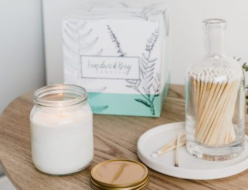 Candle or wax melts subscription box