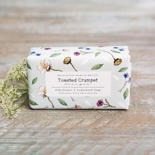 Elderflower Cedarwood Soap Bar