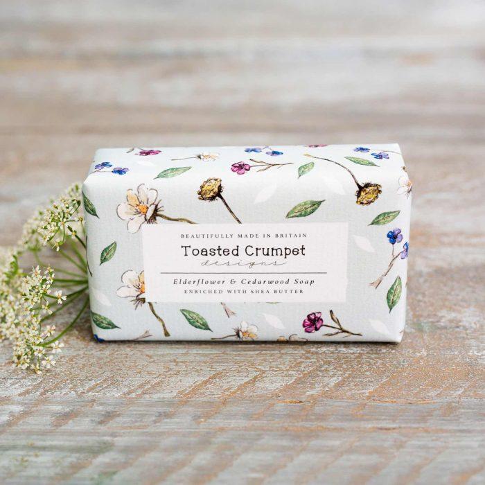 Elderflower Cedarwood Soap Bar