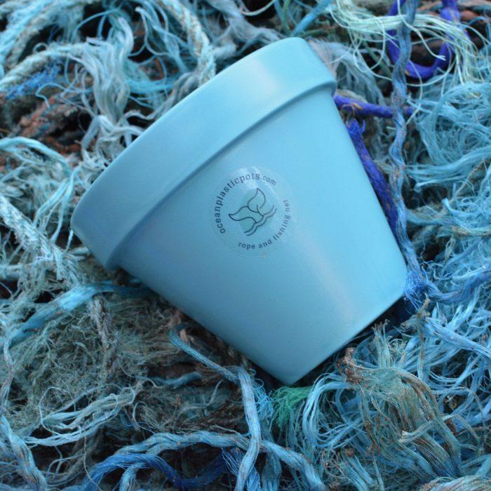 Blue Ocean Plastic Pot