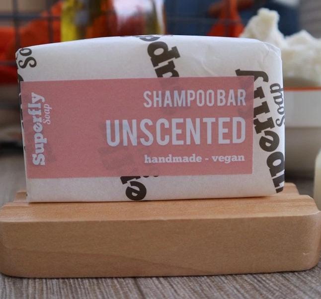 unscented shampoo bar